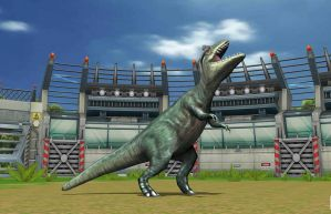 Allosaurus on JP Builder by ltdtaylor1970