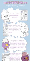 My Easy Drawing Guide (SAI) by HappyCrumble