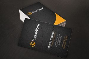 Construction Worker Business Cards by xstortionist