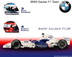 BMW Sauber F1.08 by ShinjiRHCP