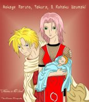 Hokage Naruto Family- FitS by theamberdragonfly