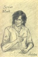 Sirius Black. 7th year at Hogwarts by MadelineSlytherin