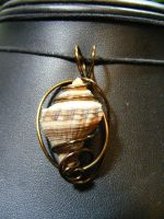 Shell in bronze by BacktoEarthCreations