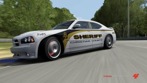 2006 Charger Police Car, FM4 by RamenWolf1485