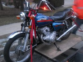 My first Motorcycle. by WolvenNightmare666
