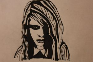 Night of The Living Dead Girl by zombis-cannibal