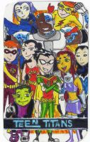 Teen Titans gang by andrewtodaro