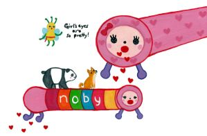 Noby Noby by nekofoot