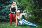 Asterix and Obelix by Euphy-Phantomhive