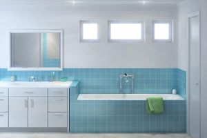 Mr. Clean Bathroom by zodevdesign