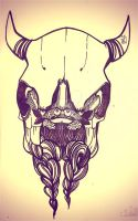 skull by ChristinaBy