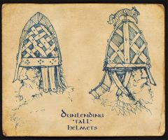 Dunnish Tall Helmets by Merlkir