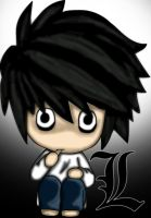 L, Chibi by LinBer
