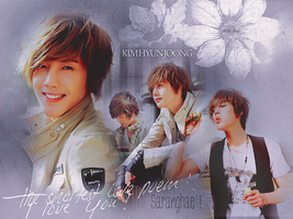 SS501 Kim Hyun Joong Wallpaper by KissOfDeathXxX