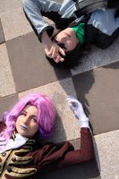 CG: Lying on the ground with u by GuardianOfCloud