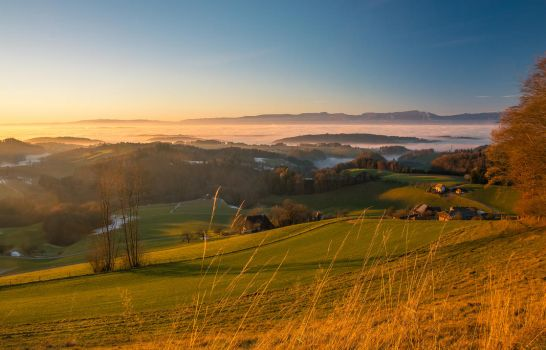 Fog in the evening by Jufington