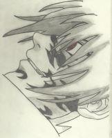 Sasuke and his curse mark by SofiaHaase