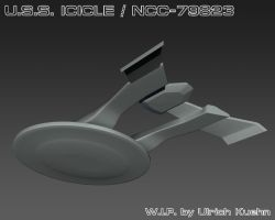 USS ICICLE / NCC-79823 W.I.P.-001c by ulimann644