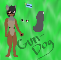 Gun-Dog Reference Sheet! by wolfygirl2341