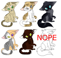 Adoptables :CLOSED: by icrystalline