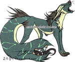 [open] tailmouth auction Sb 20pts by moria-tea