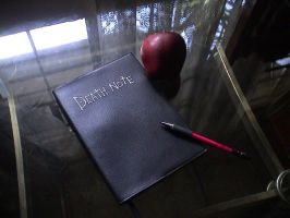 My Death Note Shot 3 by tridaln08