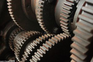The Gears..They keep turning.. by kudv4yn3