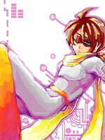 Tkk : Protoman the Prototype by whitmoon