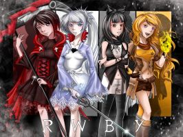 RWBY Ready for battle by Clannadlvr123