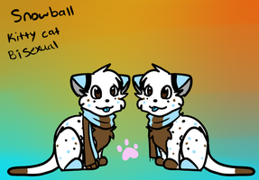 Snowball Ref Sheet by SnowballThekitty