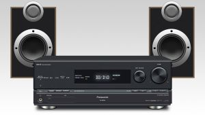 Panasonic Amp and Speakers by ant-ony