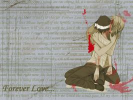 Forever Love Wallpaper... by Guu