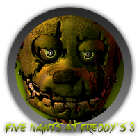 Five Nights At Freddy's 3 - Icon by Blagoicons