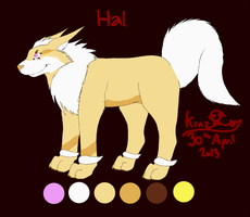 Hal 2013 Reference Sheet by LaserChaser