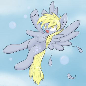 Derpy Fun by kaggy009