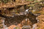 Swirling Bushkill Fall Stream by somadjinn
