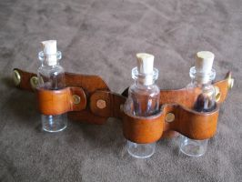 Portable Vial Holder C by passbyguy
