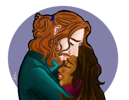 Ichabbie- I forge my fate with you by KirstiQue