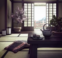 Japanese House by Victor-MS