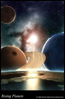 Rising Planets by kittomer