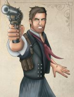 Booker Dewitt Fanart Cutout by toughraid3r37890