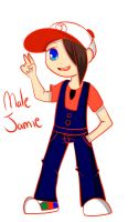 Male Jamie by NickTheWitch