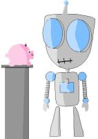 Gir and Piggie by Superman999