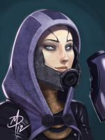 Tali 'Zorah Vas Normandy by polarityplus