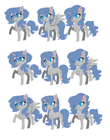 mlp chibi adoptable base by SapphireScarleteShop