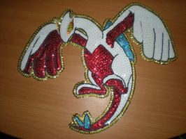 Lugia hand embroidery by shiny-latios01