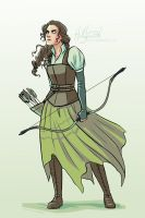 The Silver Eye - Archer Berlyne by LauraHollingsworth