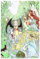 Spring of Goddess- Amdhuscias by AntiEvangeline
