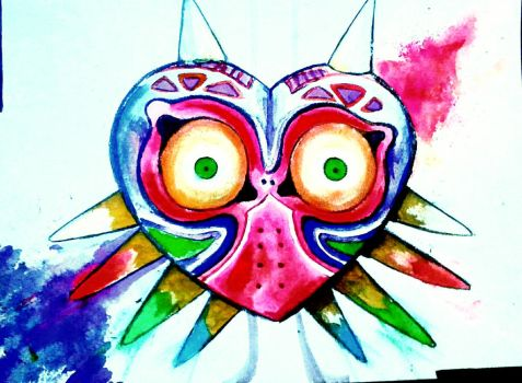Majora's Mask by ThatKidNamedAbii
