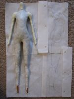 BJD Body, Progress Shot 3 by Prysm
